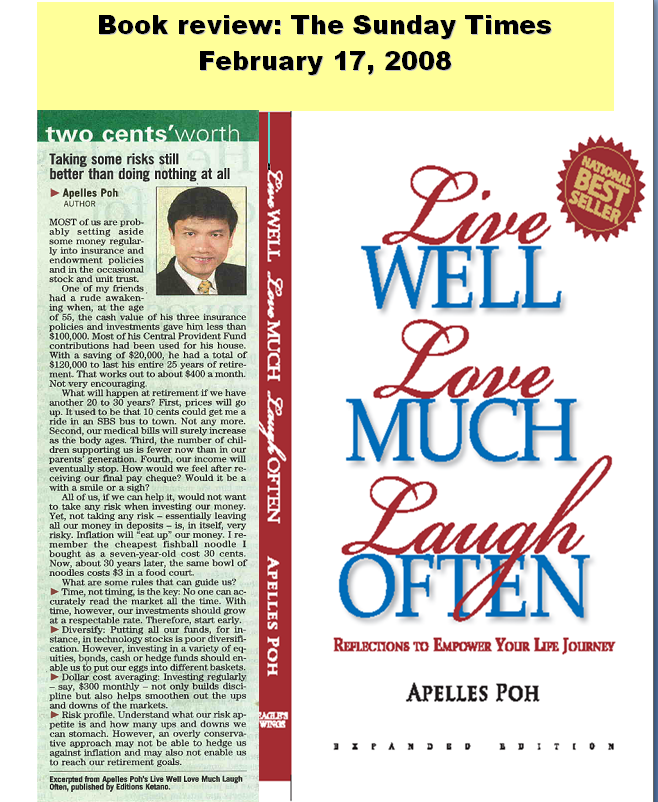 Apelles Poh | Media Coverage