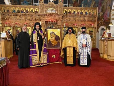 Many Thanks to His Grace Bishop Iakovos