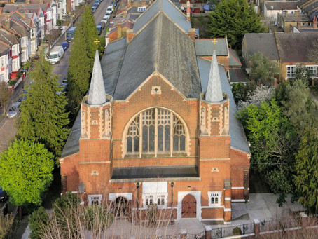 Drone Photographs of our Church