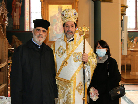 AXIOS our new Bishop!