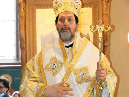 His Grace Bishop Iakovos at our Church