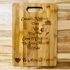 Mother's Day Cutting Board