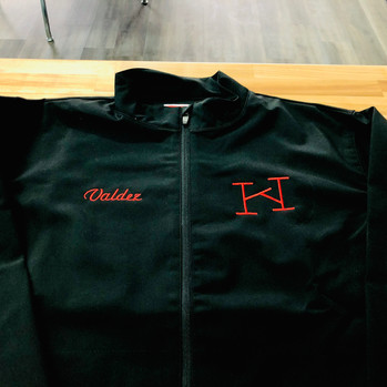 Black Jacket with Brand