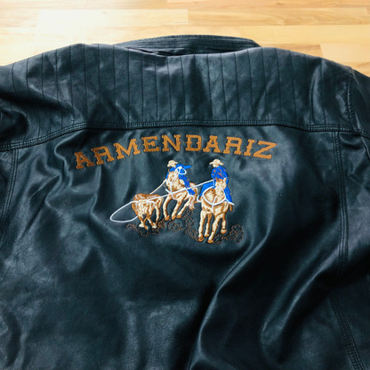 Armendariz Roping Leather Jacket