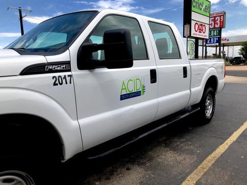 ACID Tech Services Truck