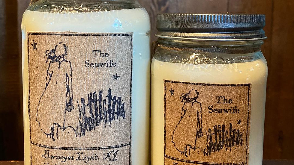 The Seawife Wax Candle