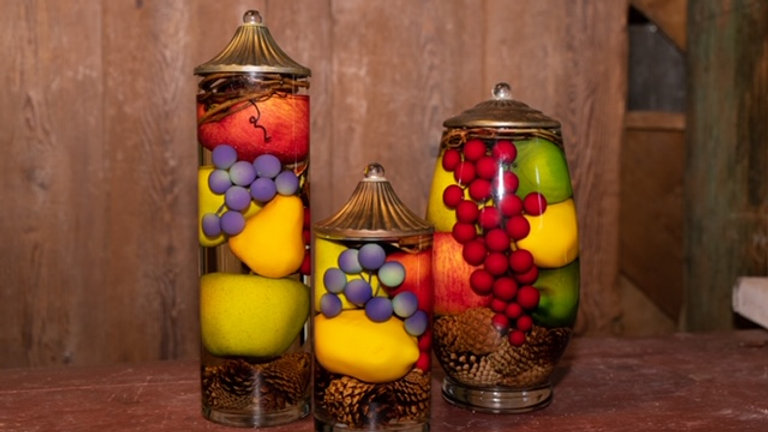 Lifetime Oil Candles- Fruit Bowl