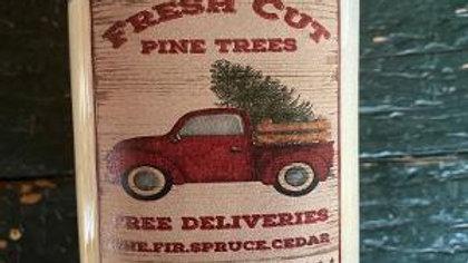 Fresh Pine Wax Candle