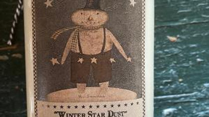 Winter Star Dust Wax Candle