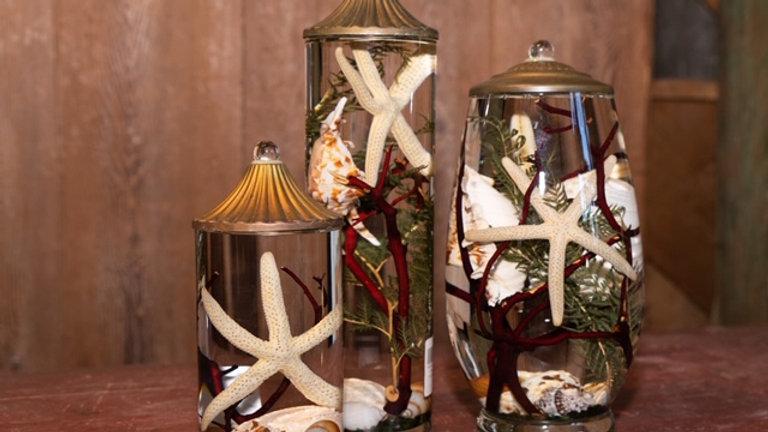 Lifetime Oil Candles- Seashell