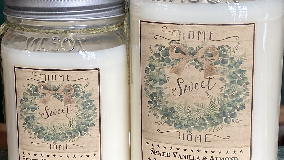 Home Wax Candle