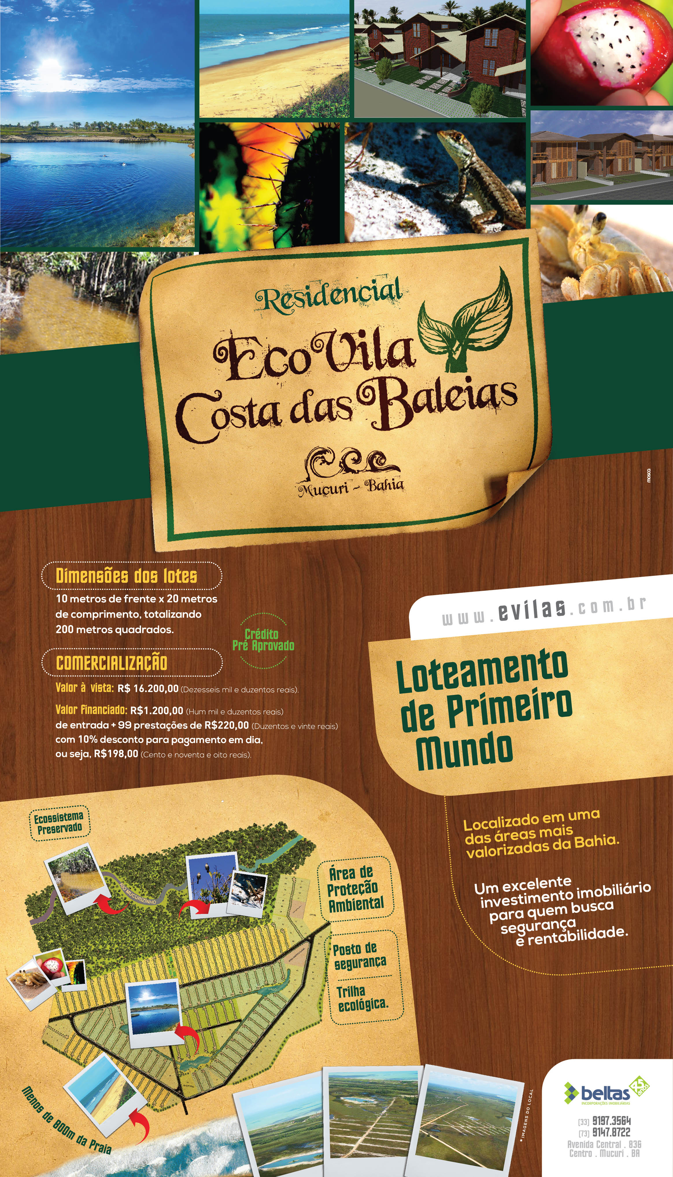 Anuncio Jornal Pagina Inteira (29,7cm x 52cm)