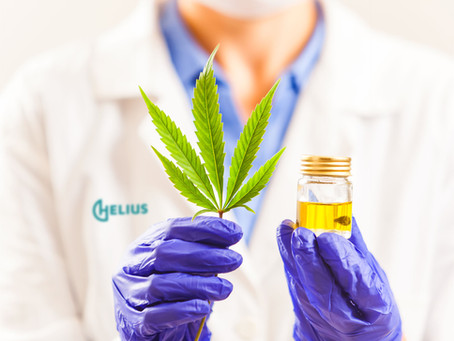 How does cannabis help in the management of pain?