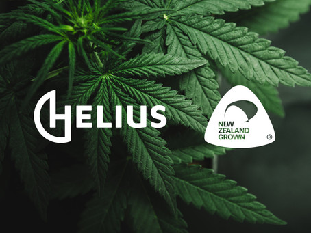 Helius announced as first New Zealand Grown cannabis producer