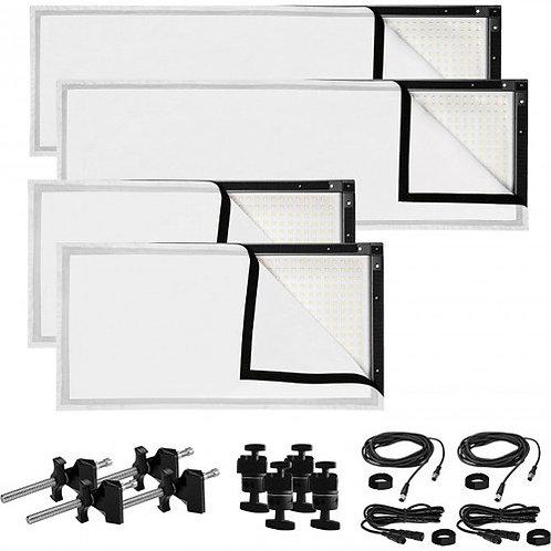 Westcott Peter Hurley Flex LED Mat 4-Light Kit