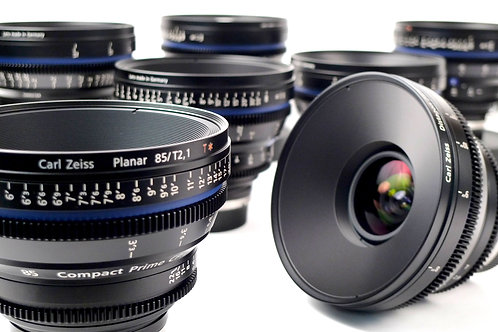 Zeiss CP2 Lenses Super Speed - PL Mount 5x Lenses Set With Hard Case