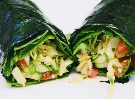 Vegetable Nori Wraps