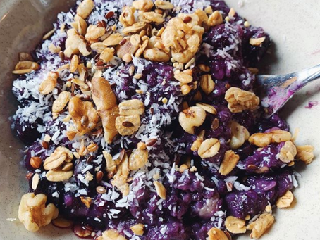 Pitaya Blueberry Oatmeal