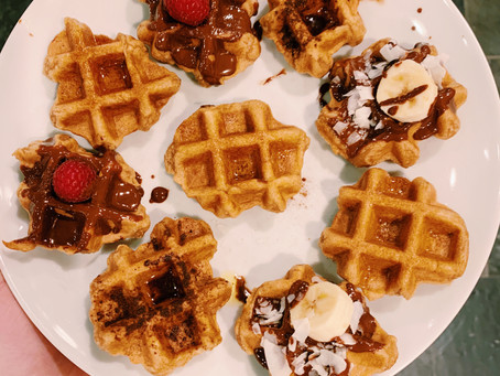 Homemade Sweet and Savory Waffles