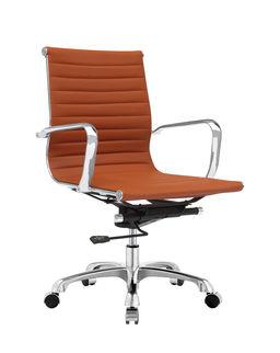 mid century office chair. Mid Century Office Chair Back Terracotta