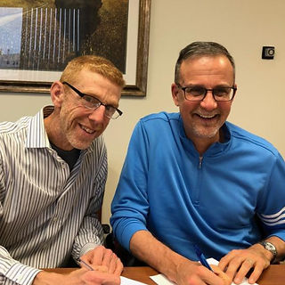 Couple signed new home morgage loan