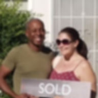 New home owners sold sign