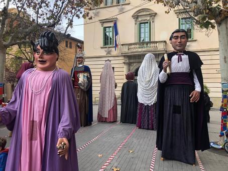 Els gegants recapten 1850€ per La Marató de TV3