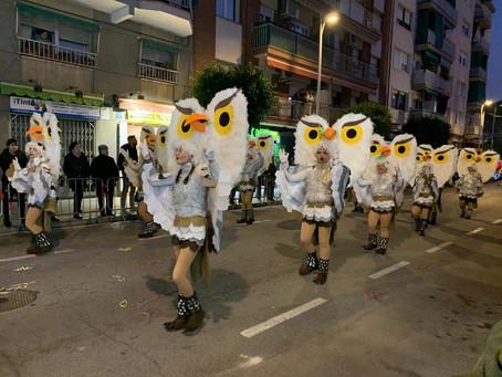 Aconseguim el 1r premi a la rua de carnaval de Sant Feliu