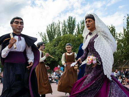 Les colles de l'ACF a les Festes de Primavera de Sant Feliu