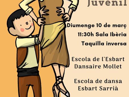 L'Escola de l'Esbart a punt pel VII Festival de Danses Infantil i Juvenil