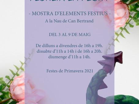 """Els geganters fan """"florir"""" les Festes de Primavera"""