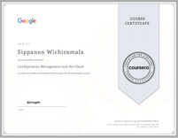 Course Certificate Configuration Management and the Cloud