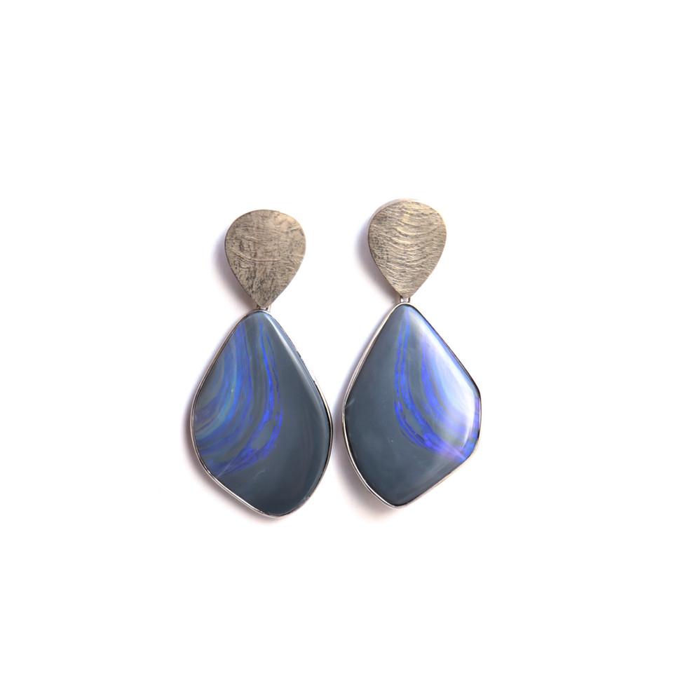 Opal-Ohrringe