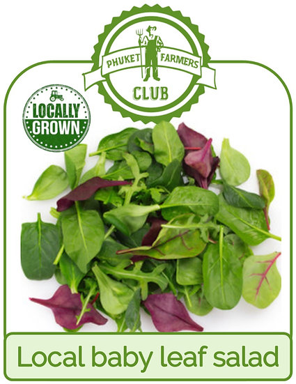 Local baby leaf salad (350g)