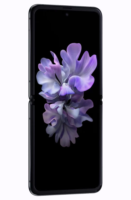 galaxy z flip black mirror