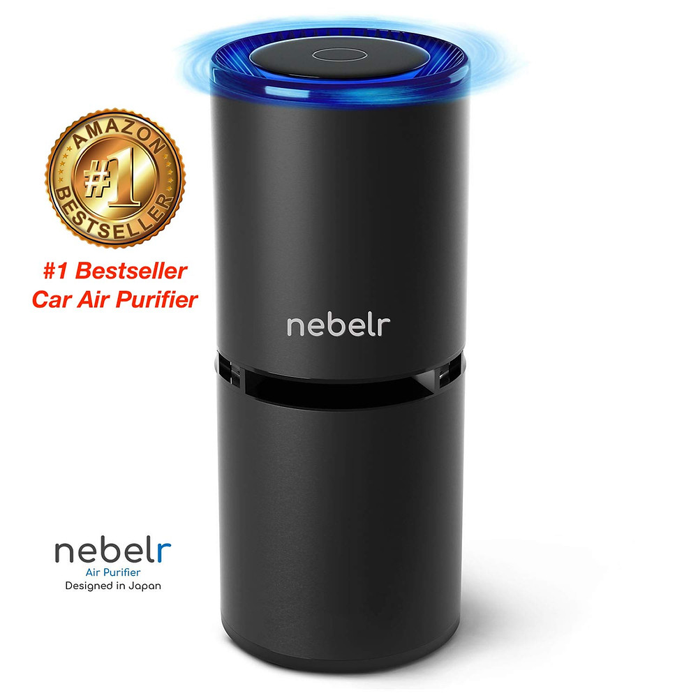 #1 Bestseller Car Air Purifier on Amazon Nebelr Car Air Purifier Ionizer