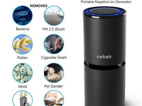 Benefits of Nebelr Car Air Purifier Ionizer