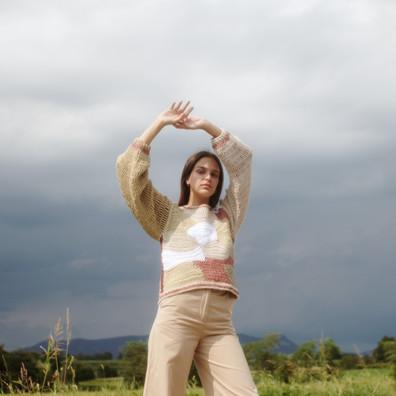Sweater Freeform long sleeve