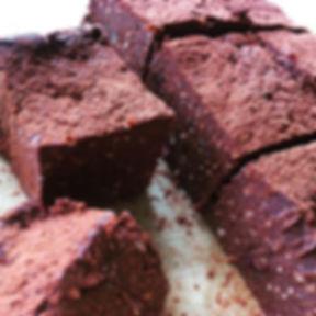Raw Chocolate & Coconut Brownie Bites #c