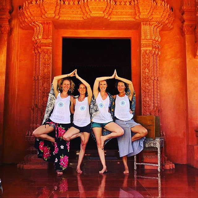 So we come to the end of our 10th year anniversary retreat at _vikasayoga .jpe