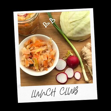 Peanut Noodle Salad and Kimchi
