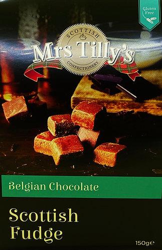 Belgian Chocolate Scottish Fudge
