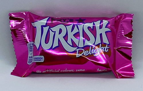 Turkish Delight covered with Milk Chocolate