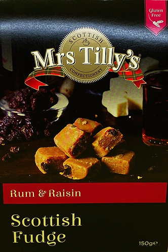 Rum & Raisin Scottish Fudge