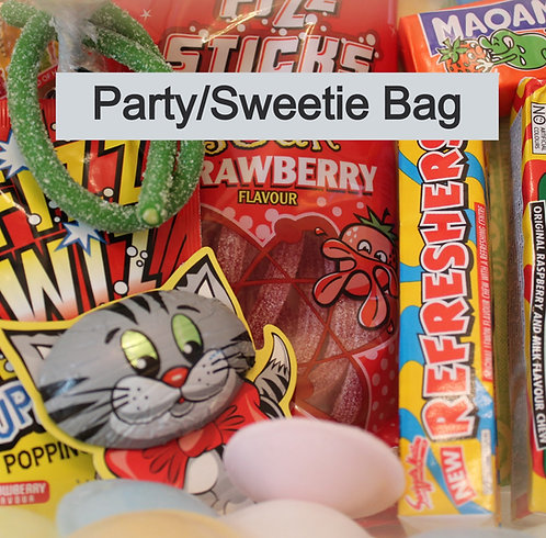 Party/Sweetie Bag for boys or girls (over 3's)