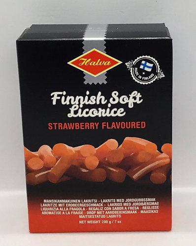 Finnish Soft Licorice Strawberry Flavoured