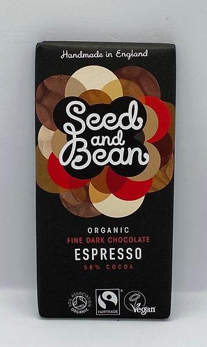 Organic Espresso Dark Bar