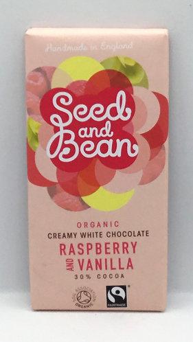 Organic Raspberry & Vanilla Bar