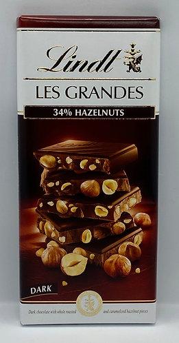 Dark 34% Hazelnut Bar