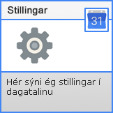 Dagatal Stillingar.png